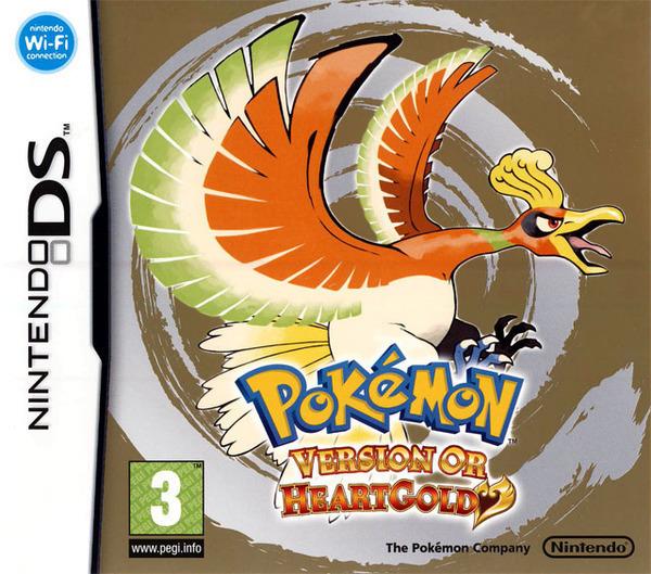 Pokémon Version Or : HeartGold