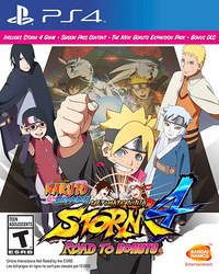 Naruto Shippuden Ultimate Ninja Storm 4 : Road to Boruto
