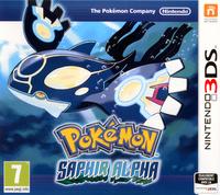 Pokémon Saphir Alpha + Pokéball + Poster Pokédex