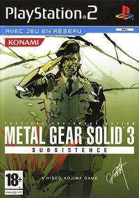 Metal Gear Solid 3 Subsistence