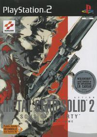 Metal Gear Solid 2 : Sons of Liberty sur Playstation 2
