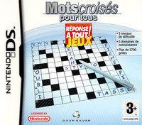 Mots Croisés pour Tous sur Nintendo DS