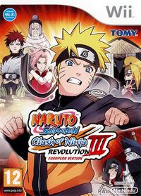 Naruto Shippuden : Clash of Ninja Revolution III - European Version